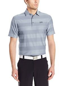Under Armour Men's UA Playoff Heathered Stripe Short Sleeve Polo - 1253479