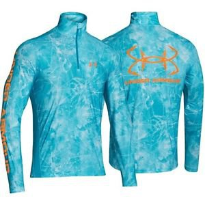 Under Armour Men's UA Iso-Chill Element 1/4 Zip Top (Medium, Blue) 1253167