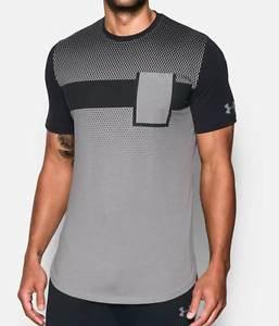 Under Armour Men's UA Pursuit Charged Cotton Short Sleeve Pocket T Shirt 1287550