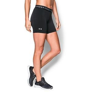 "Under Armour Women's UA HeatGear® 5"" Middy Running Compression Shorts 1271779"