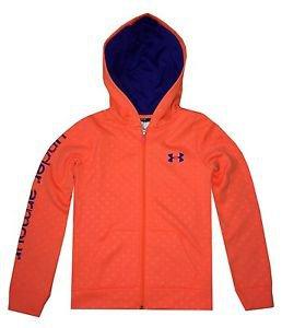 Under Armour Girls' UA ColdGear Full Zip Youth Hoodie Sweatshirt - 1260827