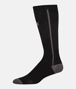 Under Armour Men's UA Circulare Compression OTC Sock (Large, Black) U097
