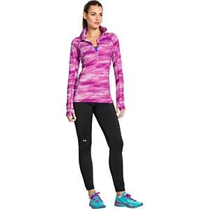 Women's Under Armour ColdGear Cozy Printed 1/2 Zip Jacket (sz Small) 1248527