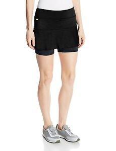 LOLE Women's Ace Tennis Skort (Black, size XS) - LSW0894