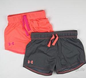 Under Armour Girls' UA RAZZLE Mesh Athletic Shorts 1236074