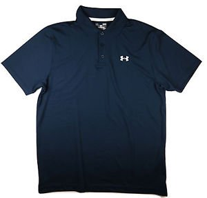 Under Armour Men's UA Golf Performance Logo Polo Short Sleeve Shirt - 1251484
