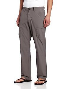 ExOfficio Men's $100 Kukura Trek'r Technical Performance Pants Gray 1021-1740