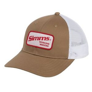 Simms Small PatchTrucker Hat Mesh Cap (One Size adjustable) 174Y