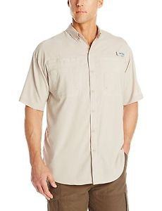 Columbia Men's PFG Tamiami II Short Sleeve Omni-Shade Shirt (Size 1X) FS7266