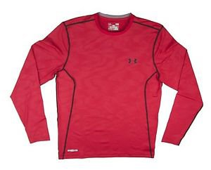 Under Armour Men's UA Sonic Printed Fitted Long Sleeve Shirt - sz M L XL 1239336