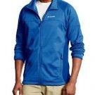Columbia Mens $85 EVAP-CHANGE Thermo Stretch Full Zip Fleece Jacket AM6086