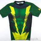 Under Armour Men's $44 UA ALTER EGO Superhero Compression Shirt - Black 1244399
