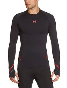 Under Armour Men's UA ColdGear Armour Stretch Mock Long Sleeve Shirt - 1248954