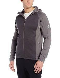 Merrell Men's $109 Alpino Full Zip Fleece Hoodie - size 2XL Gray JMF21389