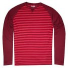 Under Armour Men's UA Waffle Knit Crew Long Sleeve Thermal Shirt (Red) 1282941