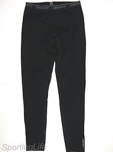 Icebreaker Men's GT 200 Technical Base Layer Wool Pants (Black, XL) 29438