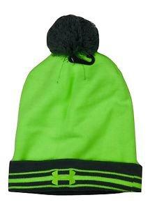 Under Armour Men's UA Coldgear Retro Pom Beanie Winter Hat - One Size 1250699