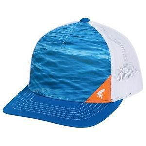 Simms Five Panel Trucker Hat Mesh Cap (One Size adjustable) 174N