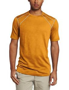 Exofficio Men's ExO JavaTech Lightweight SS Tee Shirt (Small, Yam) 1012-1705