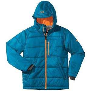 Under Armour Boys' UA ColdGear® Infrared Alpinlite Jacket (XS, Snorkel) 1239704