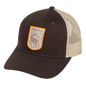 Simms Patch Trucker Hat Lightweight Cap (One Size adjustable) 8360A