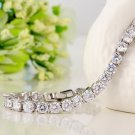 2.25 Carat Round Diamond 7inch Tennis Bracelet Crafted in 14k White Gold