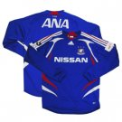 07 Yokohama F-Marinos Soccer Shirt Replica Home Long Sleeve (Full Sponsor)