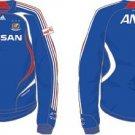 07 Yokohama F-Marinos Soccer Shirt Authentic Home Long Sleeve (Full Sponsor)