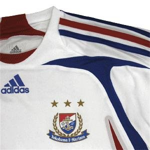 07 Yokohama F-Marinos Soccer Shirt Authentic Away Long Sleeve (Standard)