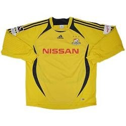 06 Yellow Goalkeeper Uniform (Full Sponsor)