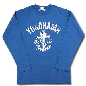 07 Anchor Long Sleeve T-Shirt (Blue)