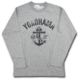 07 Anchor Long Sleeve T-Shirt (Gray)