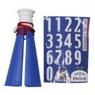 Number Sticker Megaphone