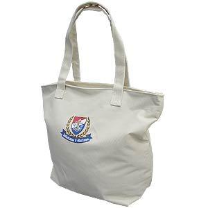 Emblem Tote Bag (Beige)