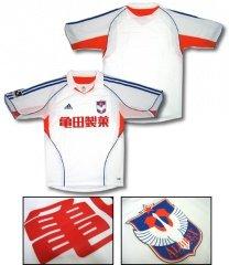 06 Albirex Niigata Authentic Away Short Sleeve