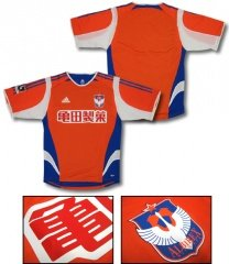 06 Albirex Niigata Authentic Home Short Sleeve