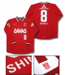 07 Urawa Reds Home Long Sleeve (Name and Number)