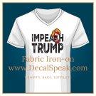 Impeach Trump Fabric Iron-on