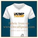 Dump Trump #2 Fabric Iron-On