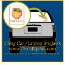 Impeach Clear Car/Laptop Sticker