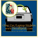 We the People are Greater than Fear Clear Car/Laptop Sticker