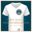 US Air Force Veteran Fabric Iron-on
