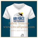 Air Force Veteran Fabric Iron-on
