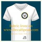 US Navy Fabric Iron-on