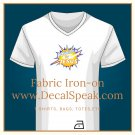 Powered by Jesus Fabric Iron-on