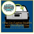 King of Kings Lord of Lords Clear Car/Laptop Sticker