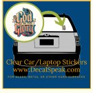 to God be the Glory Clear Car/Laptop Sticker