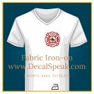 Fire Dept. Fabric Iron-on