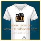 Fishing MILF Fabric Iron-on