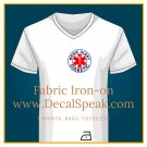 Medic Alert Diabetic Fabric Iron-on
